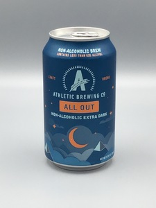 Athletic Brewing - All Out Stout (12oz Can) - Non-Alcoholic